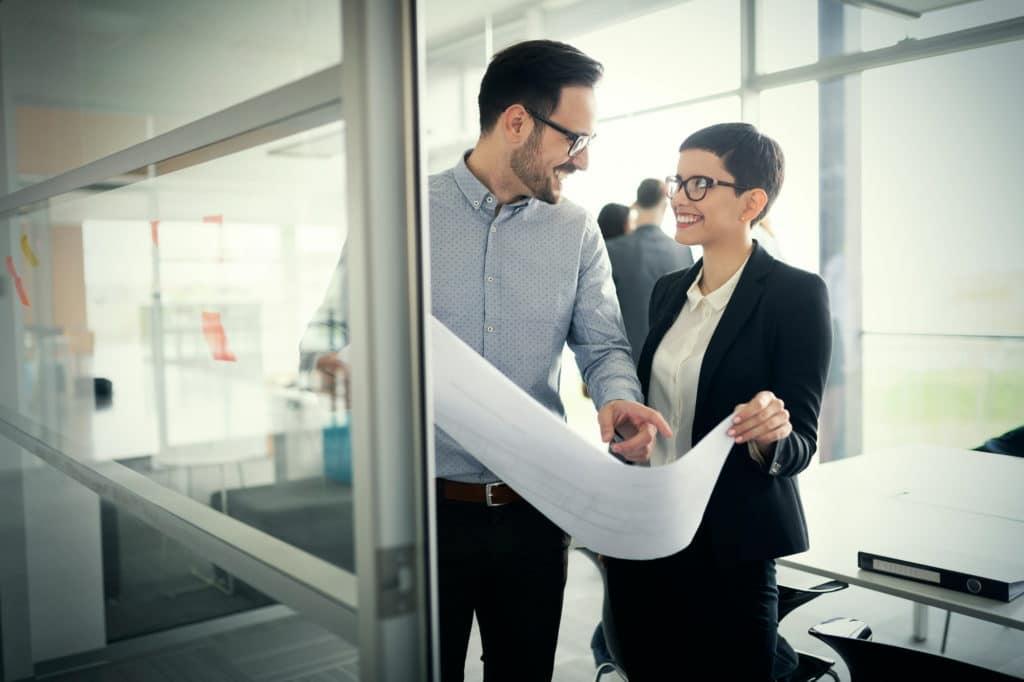 Zufriedene Kunden, die Ihre Finanzbuchhaltung outsourcen für das produzierende Gewerbe